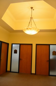hallway to 400